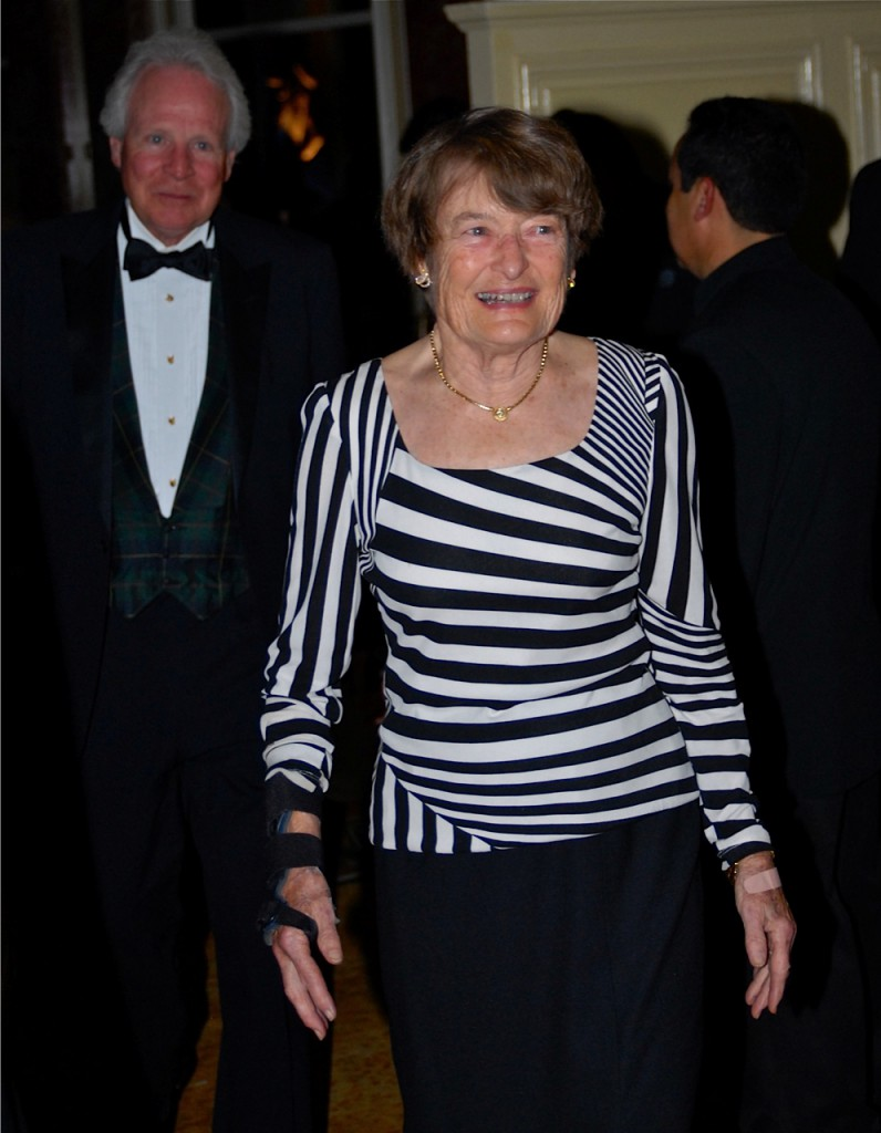 Anne Via at the Eclipse awards. Good Night Shirt won an Eclipse for she and husband Sonny. Photo courtesy Douglas Lees.