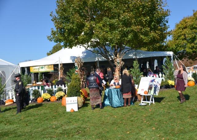 The VTA Turf Club tent.