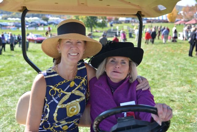 VTA member Leslie Hazel and Gold Cup Executive Director Diane Jones.