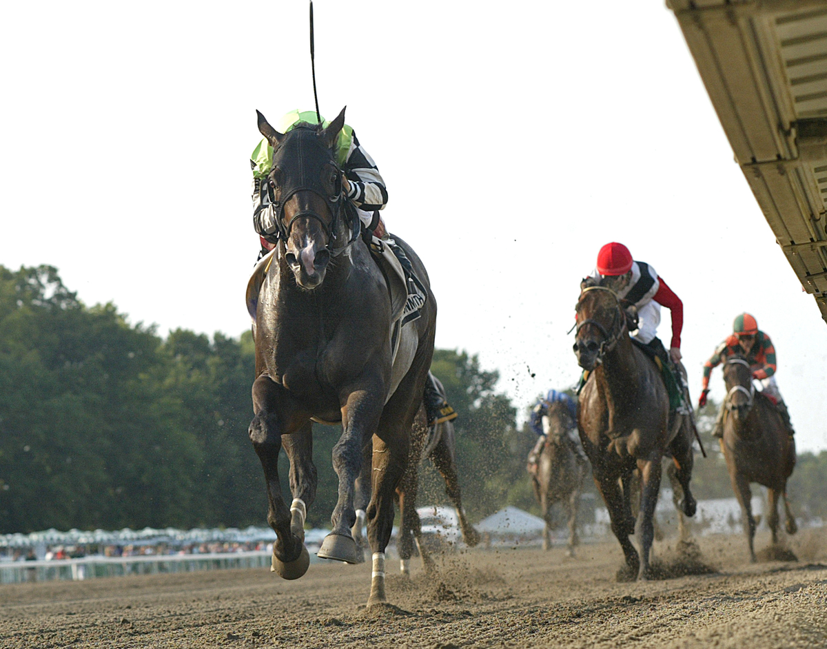 Valid with Nik Juarez riding won the $150,000 Grade III Philip H. Iselin Stakes at Monmouth Park in Oceanport, New Jersey on Sunday August 30, 2015.  Photo By Bill Denver/EQUI-PHOTO