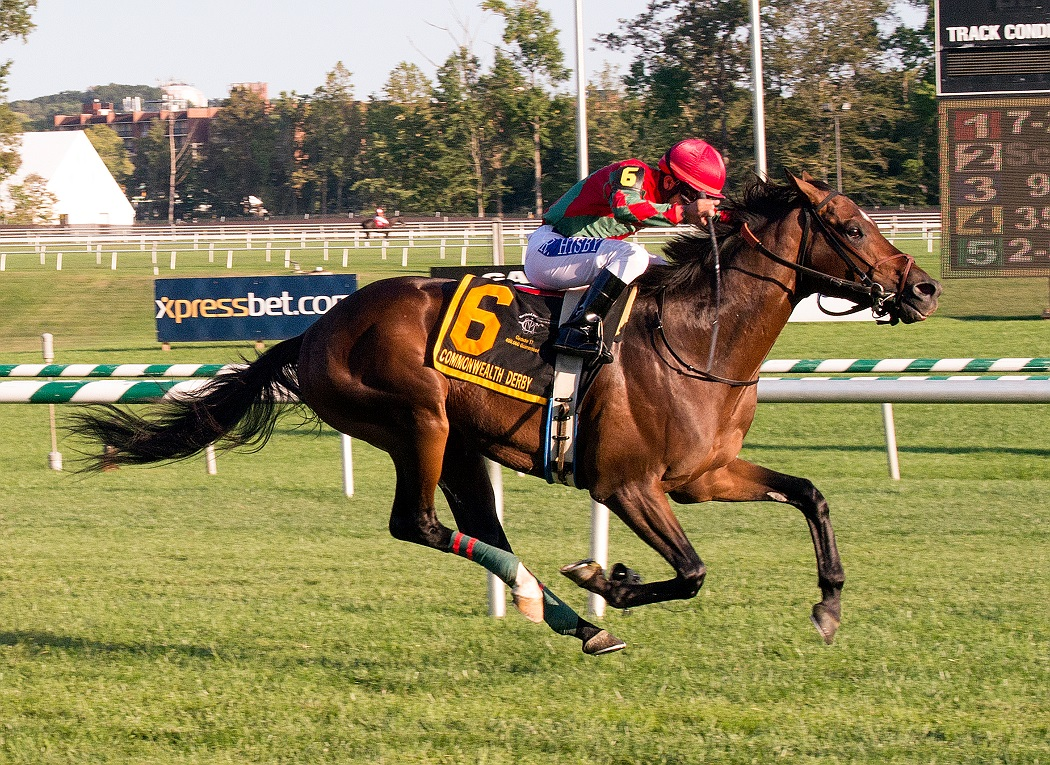 Virginia-bred One Go All Go wins the $400,000 Commonwealth Derby (Gr. II( Sept. 19th at Laurel