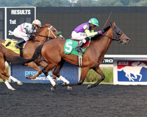 Pauper's Queen kicks off Labor Day week, 20-15, with a three length win at Presque Isle Downs