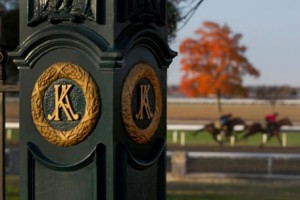 The Breeders' Cup Championships were held at Keeneland October 30 & 31