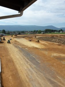 Progress continues on a $700,000 track renovation project in Woodstock, VA. Racing at Shenandoah Downs is slated to begin September 10, pending approval from the Virginia Racing Commission