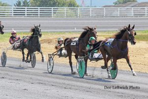 Harness races will be held at Shenandoah Downs October 1 & 2 and October 8 & 9. photo by Dee Leftwich.
