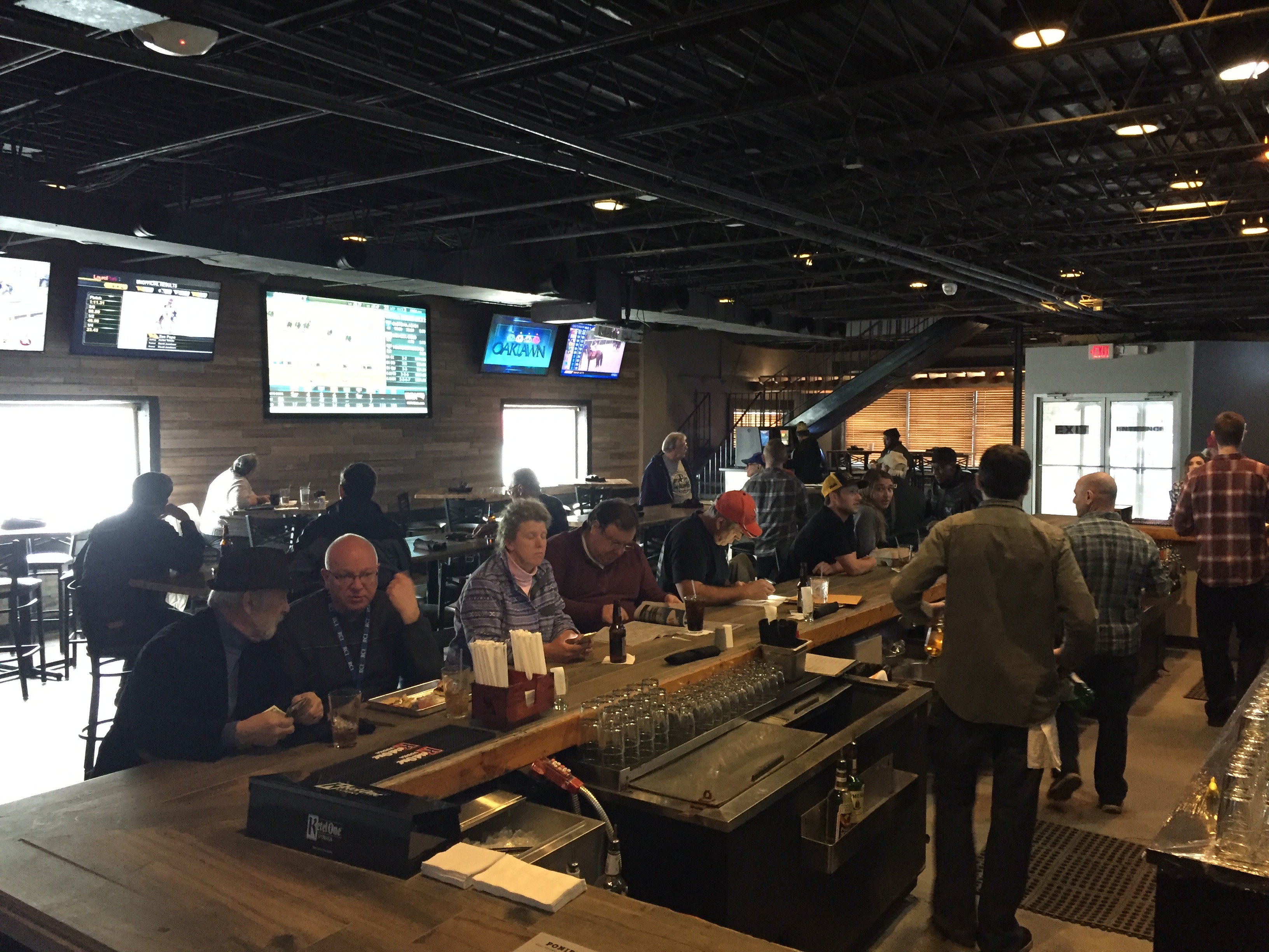 The OTB at Ponies & Pints handled over $668,000 in the month of February.